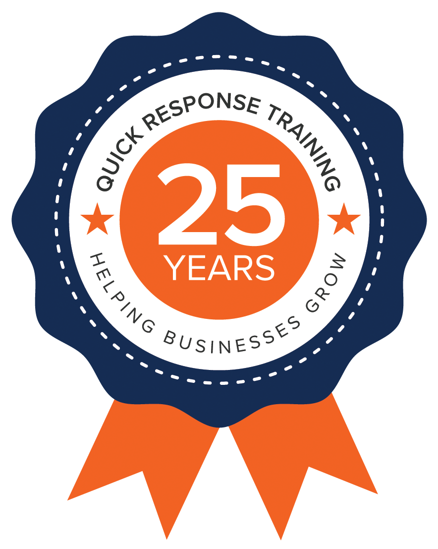Quick Response Training 25th Anniversary Ribbon