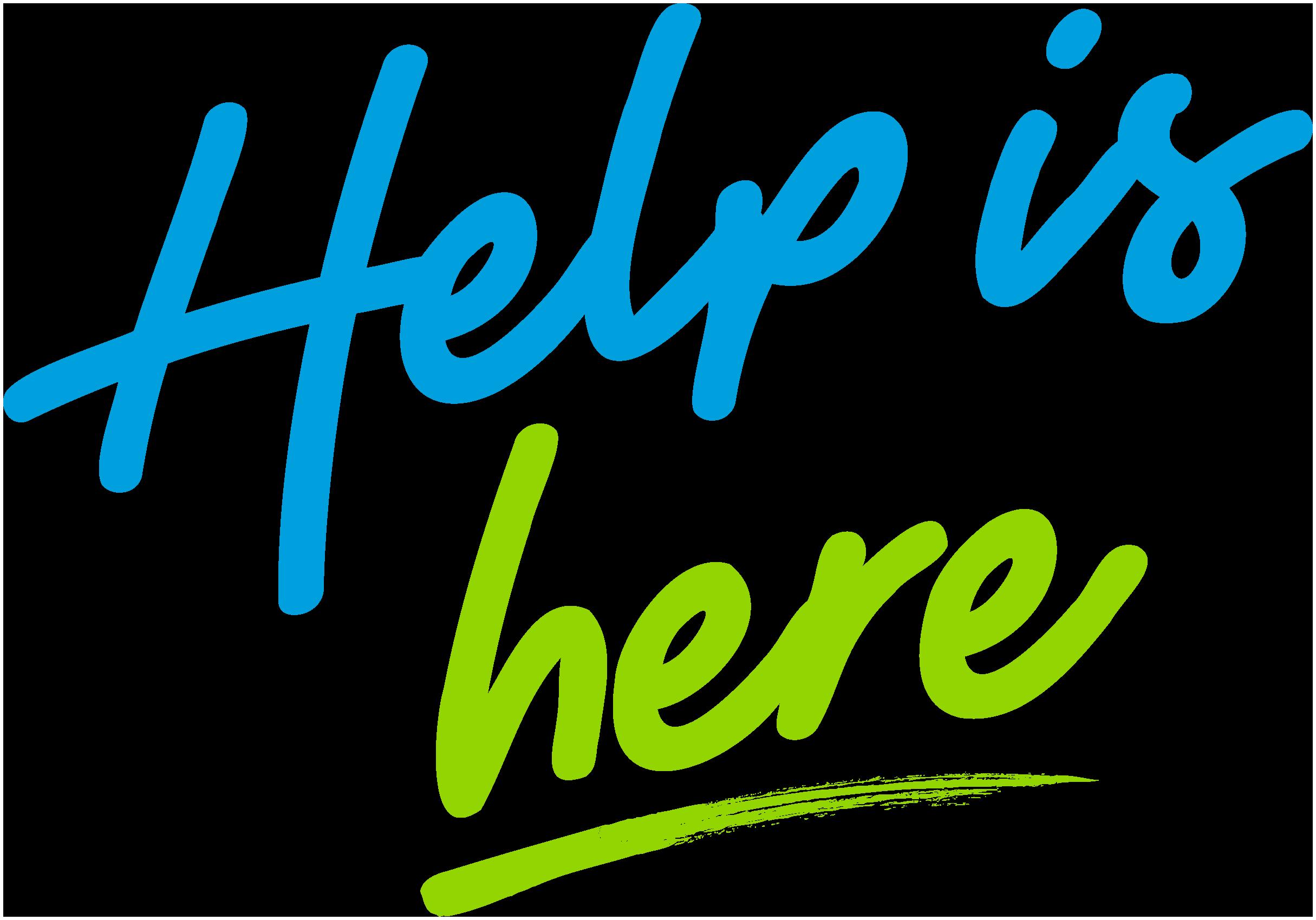 Help is Here logo